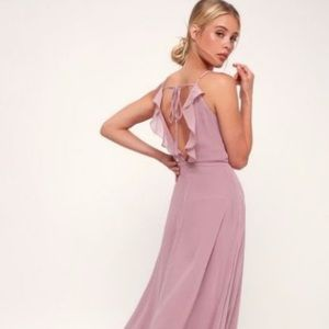 Lulus You've Got The Love Backless Maxi